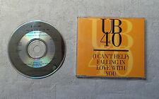 """CD AUDIO MUSIQUE / UB40 """"(I CAN'T HELP) FALLING IN LOVE WITH YOU"""" CDM 3T 1993"""
