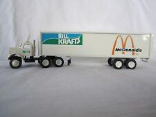 Winross 1983 Bill Krafts McDonalds White 9000 Cargo Truck