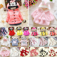 Winter Toddler Boy Girl Baby Coat Outerwear Fashion Hooded Jacket Warm Clothes