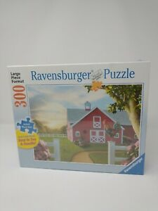NEW Ravensburger Large Piece Format Jigsaw Puzzle 300pc MORNING SONG 24 x 18