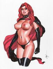 Black Queen! Original Art by MC Wyman