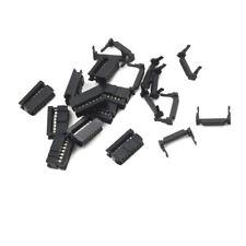10PCS 14Pin2x7 2.54 Pitch IDC FC-14 FemaleJTAG Socket ISP Connector FlatCable PP