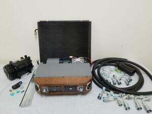 Universal Underdash Air Conditioning Evaporator Kit AC Fittings Hoses Compressor