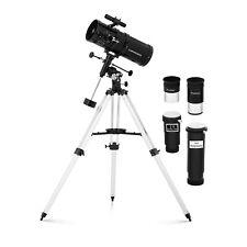 Teleskop Einsteiger Fernrohr Spiegelteleskop Reflektor 1.400 mm Ø150 mm