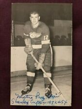 Metro Prystai Red Wings Autographed Signed JD McCarthy Postcard
