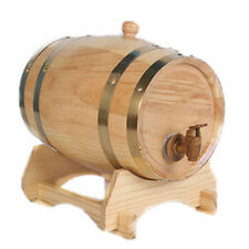 Personalized 1.5L Wooden Oak Whisky Wine Barrel Custom Name Groomsman Gifts &