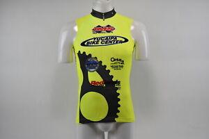 Verge V Gear Yucaipa Bike Women's S/L Cycling Jersey, Neon Yellow, M, Brand New