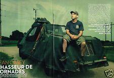 Coupure de Presse Clipping 2012 (8 pages) Sean Casey chasseur de Tornades
