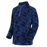 Regatta Jubblie Fleece Youngster Boys Zipped Top Sweatshirt Jumper Zip Regular
