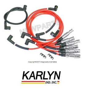 For VW Corrado Golf Jetta Ignition Spark Plug Wire Set KARLYN-STI 357 998 031 A