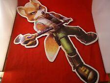 Star Fox Adventures Nintendo Gamecube Store Display Promo RARE Promotional Sign