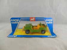 Scarce 1976 Corgi Cubs R501 Jeep in Green & Yellow