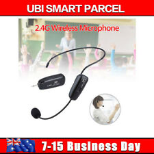 2.4G Wireless Microphone Headset MIC Audio PC With 3.5mm Jack For Voice X1 HOT