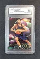 Jalen Rose 1995-96 Fleer Ultra NBA All Rookie 2nd Team GMA Graded MT 10