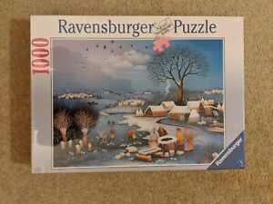 NEW Ravensburger 1000 Piece Jigsaw Puzzle - Winter In The Village