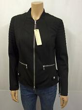 MARCCAIN MARC CAIN SPORTS College Jacke Gr.42 N5 Blouson Jacket Schwarz