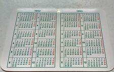 Vintage ROLEX  Calendar 1992/1993 OEM 67180 68628 16518 16523 16600 16520 16528