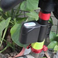Alarme de mot de passe de vélo serrure électronique anti-pluie vélo anti-volLBB