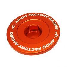 APICO ENGINE PLUG SET KTM SXF250 06-16 SXF350 11-16 SXF450 07-12 ORANGE