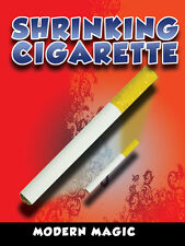 Shrinking Cigarette - Magician Places a Cigarette Into A Tube and It Shrinks!