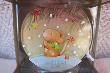 God Child 2009 Hallmark Christmas Holiday Ornament NIB Ya2