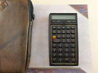 Vintage HP 41CX Hewlett Packard Calculator Good Working Condition with case