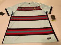 Nike Portugal Away Soccer Jersey 2020 Men's Size XL CD0600-336 Vaporknit$90