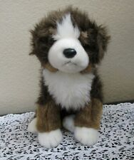 "Ty Classic Mugsy Bernese Mountain Dog 2002 12"" No Tag"