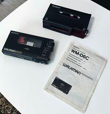 Sony Walkman Professional WM-D6C - Stereo Cassette-Corder