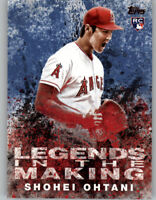 Shohei Ohtani 2018 Topps Update LEGENDS IN THE MAKING Blue Angels RC #LITM-21