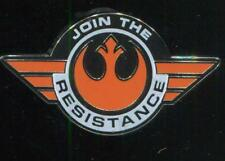 Star Wars The Force Awakens Join The Resistance Disney Pin 111122