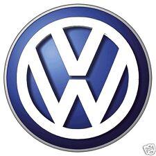 Volkswagen VW EMBLEM, LOGO, Flat Flexible Refrigerator Magnet, 40 MIL
