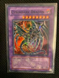 Cyberdark Dragon - DP04-EN014 - Super Rare - Played -  Yugioh -