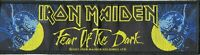 Iron Maiden Woven Patch Superstrip FEAR OF THE DARK