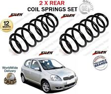 FOR TOYOTA YARIS VITZ 1.0 1.3 1.4 D4D 1.5 1999-2005 NEW 2X REAR COIL SPRINGS SET