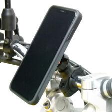 Motorcycle Handlebar Mount & TiGRA FITCLIC Neo Case for iPhone X