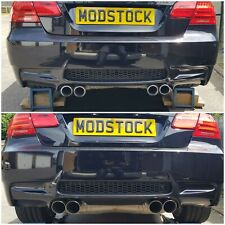 BMW E90/92/93 ///M3 80mm Stainless Steel Slash Cut Exhaust Tips