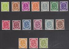 BRD 1951 Mi.Nr. 123-38 ** postfrisch Posthornsatz tief geprüft Schlegel BPP