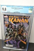Kanan The Last Padawan #6 CGC 9.8 Star Wars 1st appearance of Sabine Wren & Ezra
