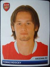 Panini 81 Tomas Rosicky Arsenal FC UEFA CL 2006/07