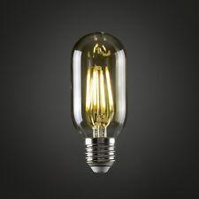 MiniSun 4w LED Filament Radio Valve Bulb ES E27 Amber 2700k Vintage Lamp