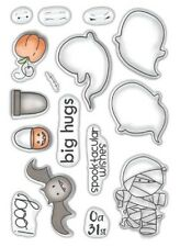 New Polkadoodles Clear Stamps Halloween Spooktacular
