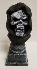 Grim Reaper Bust Statue Classic Horror Decoration NEW