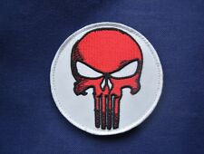 insigne militaire badge patch armée écusson Punisher tête de mort biker motard