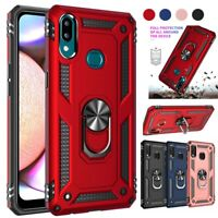 For Samsung Galaxy A10e A20 A20s A50 A70 A51 A71 Armor Ring Stand Case Cover