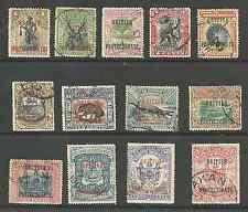 NORTH BORNEO BETWEEN SG127-42 EVII 1901-5 1c to $1 FINE USED CAT £181+