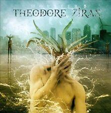 THEODORE ZIRAZ - Monster 5 CD ( VIRTUOSO GUITAR PLAYER) STEVE VAI , JOE SATRIANI