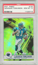 LaDainian Tomlinson 2001 Topps Finest #132 Rookie Card #/1000 rC PSA 10 Gem QTY