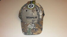 Caterpillar Cap Realtree AP Camo Hat New with tags Patch CAT Logo