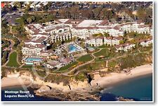 Montage Resort Laguna Beach CA - NEW World Travel Poster